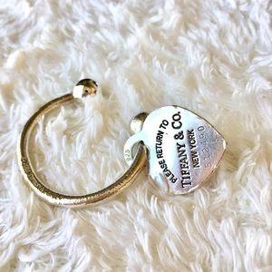 Tiffany & Co Sterling Silver Key Chain
